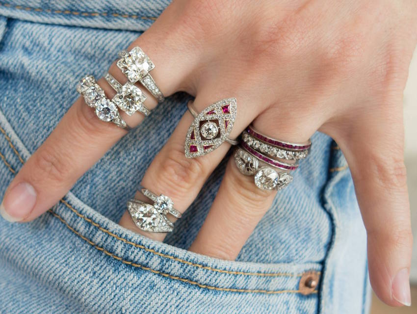 Vintage Ring Obsession All Of The Rings