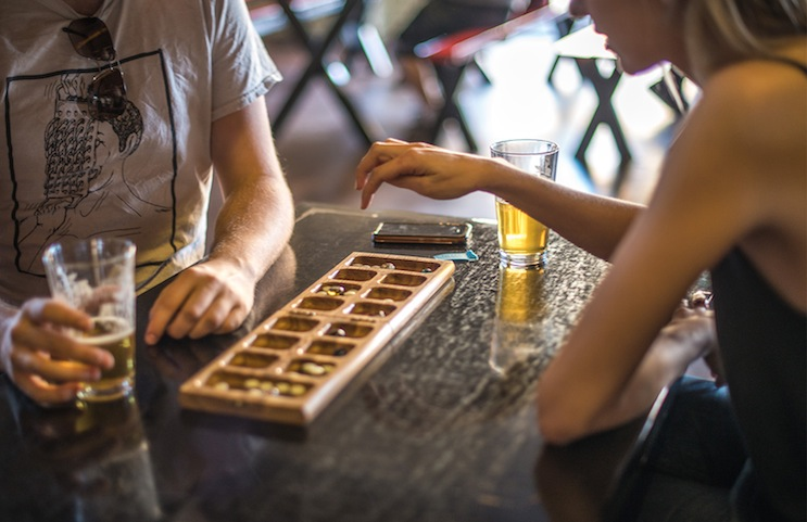 Game night at Angel City Brewery