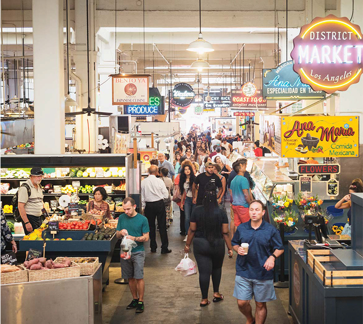 Inside The Gentrification Of Grand Central Market Los