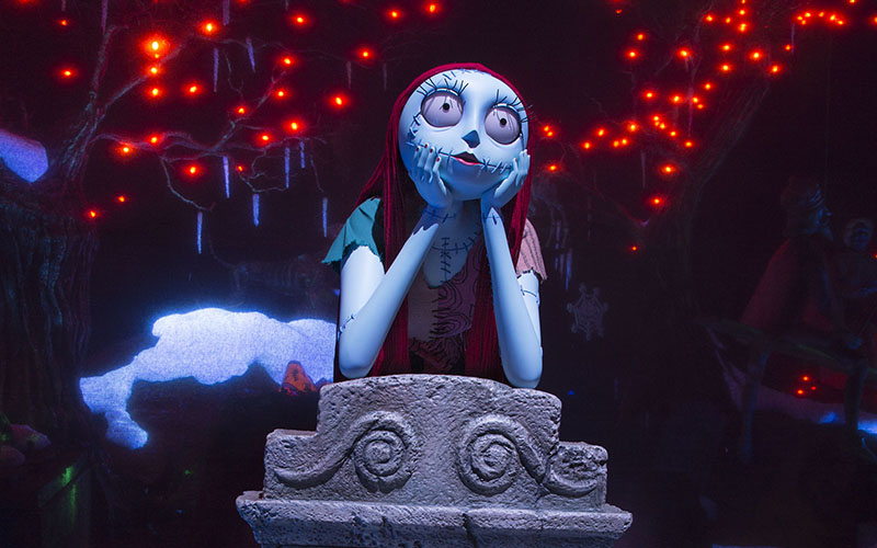 a new nightmare before christmas robot joins disneylands