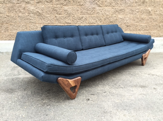 midcentury modern alexander sofa from west coast modern la