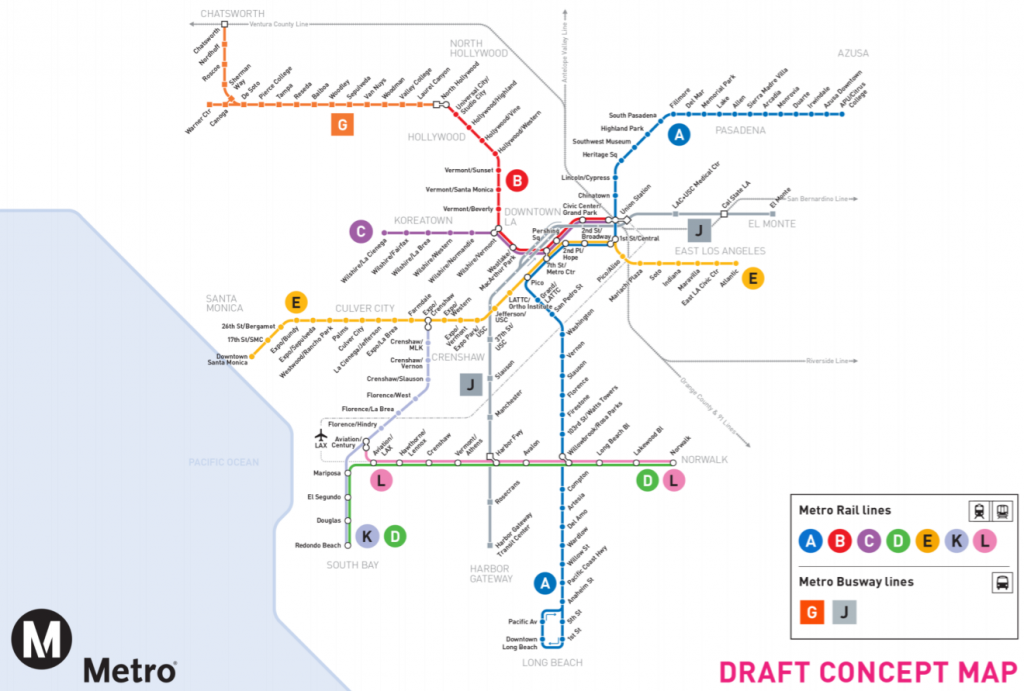 Metros Regional Connector Will Change Everything  Los Angeles