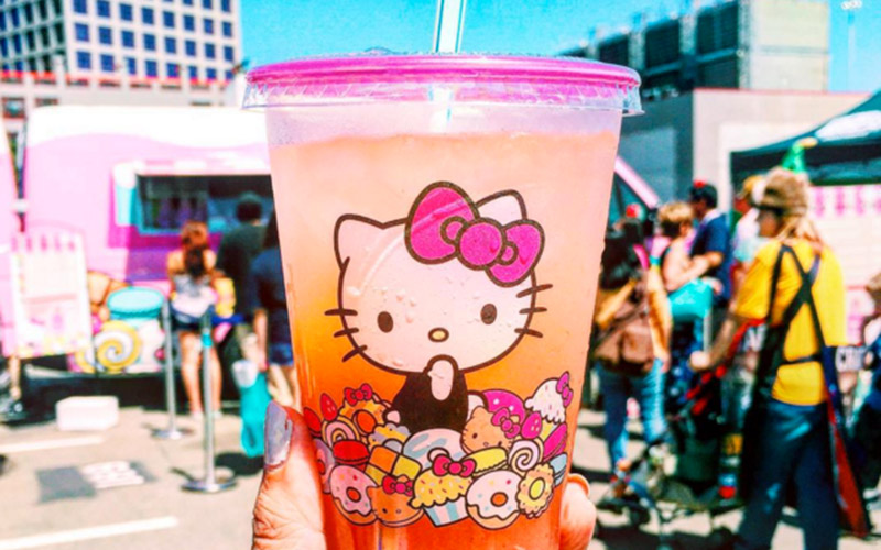 Hello Kitty Food Truck Headed To Torrance This Saturday