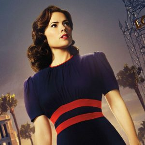 "Hayley Atwell stars as Peggy Carter in ""Agent Carter"""
