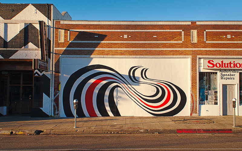 The elliott smith mural in silver lake looks nothing like for Elliott smith mural