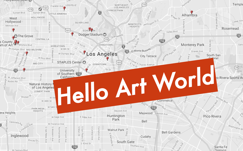 Theres now a live map of every art event happening in the city theres now a live map of every art event happening in the city los angeles magazine gumiabroncs Image collections