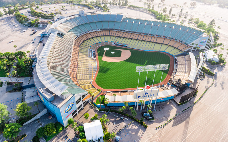 This Map Of Bars Near Dodger Stadium Is Here For You In Your Time - Us map of baseball stadiums