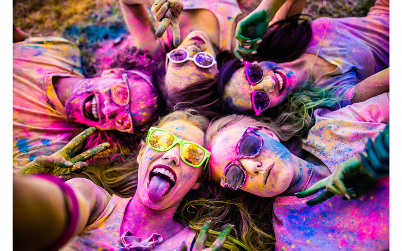 the festival of colors is coming to the valley this