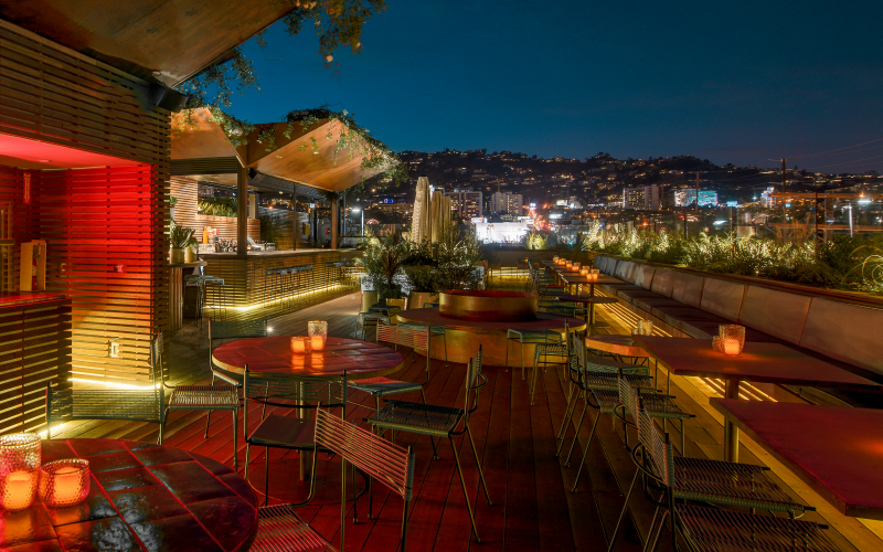The 9 best rooftop bars in la los angeles magazine publicscrutiny Choice Image