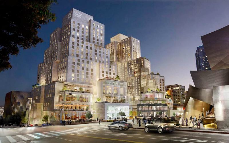 Frank gehry 39 s next mega complex will change the look of for Top architecture firms los angeles
