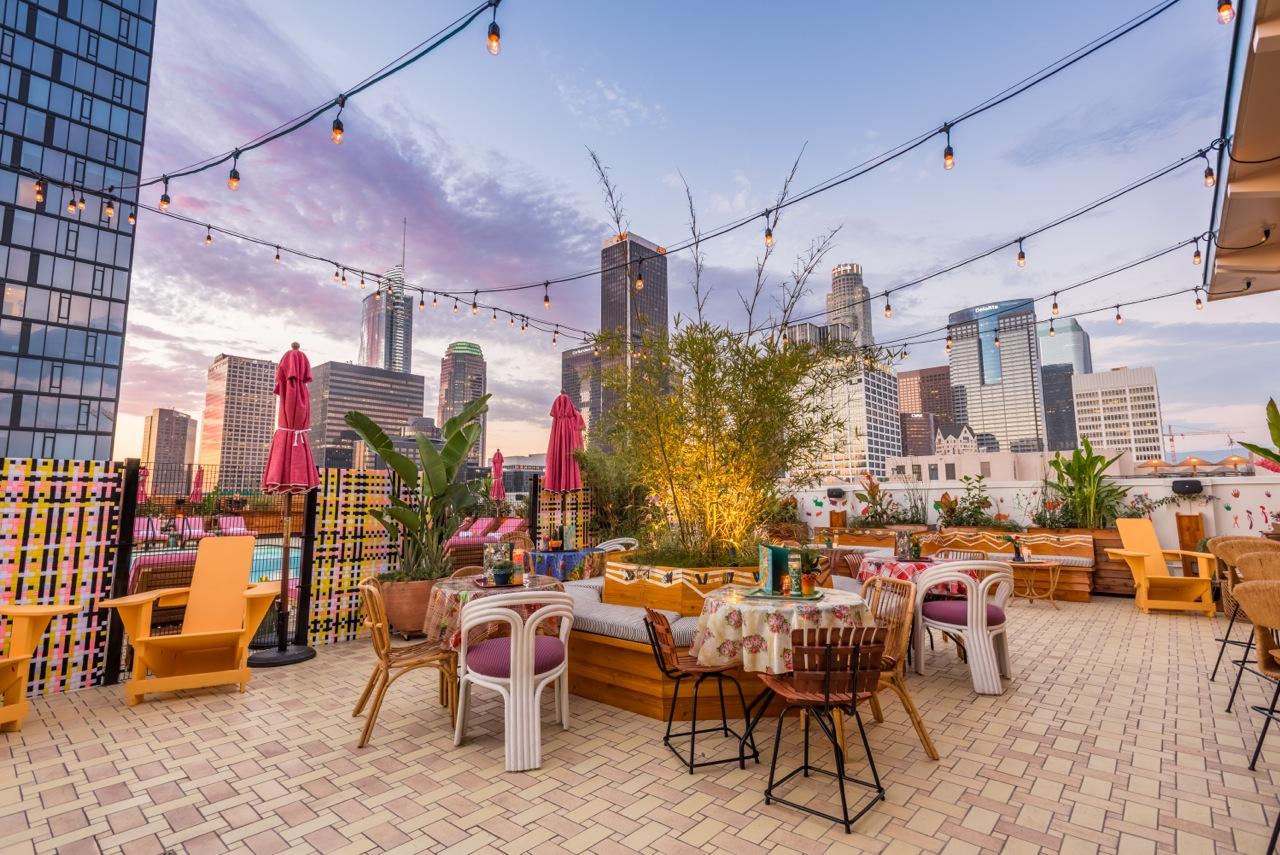 Your New Favorite Rooftop Bar Has Arrived In Dtla Los