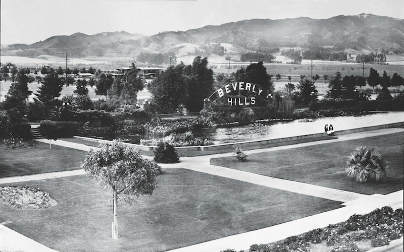 How The World S First Movie Stars Made Sure Beverly Hills