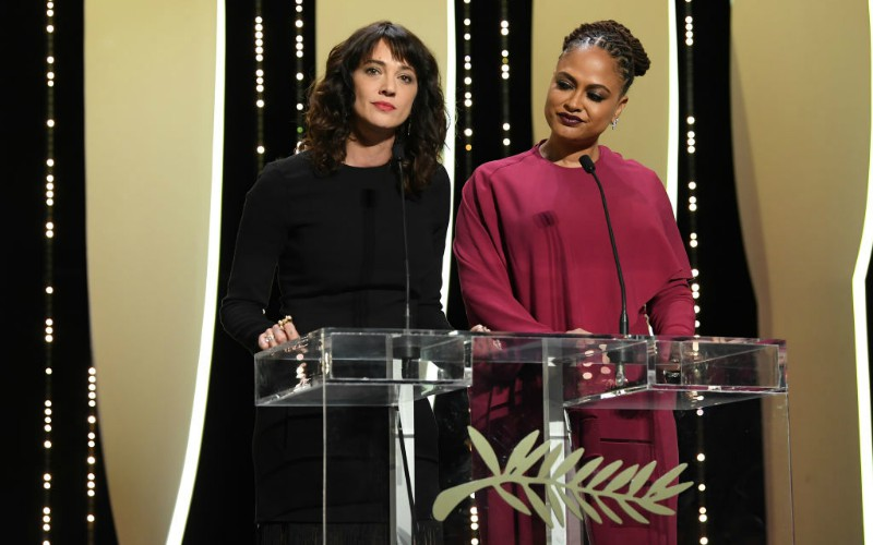 asia argento cannes 2018 ava duvenay me too time's up movement harvey weinstein