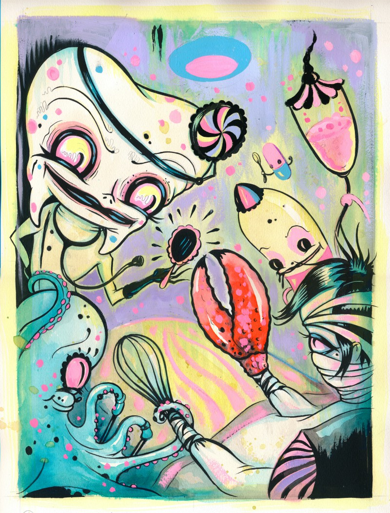 camille rose garcia dr deekay the operation surgery corey helford gallery
