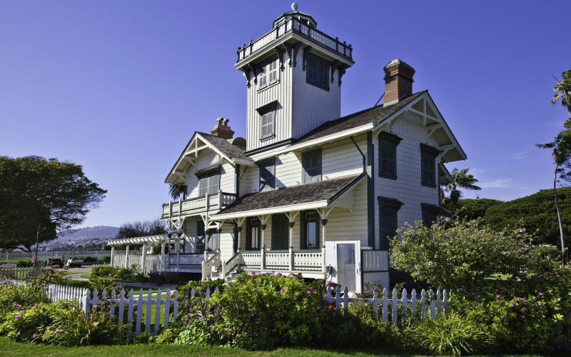 point fermin lighthouse sunny places los angeles