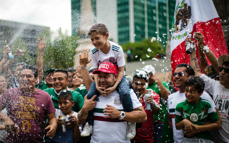 mexico world cup celebrations world cup 2018 soccer