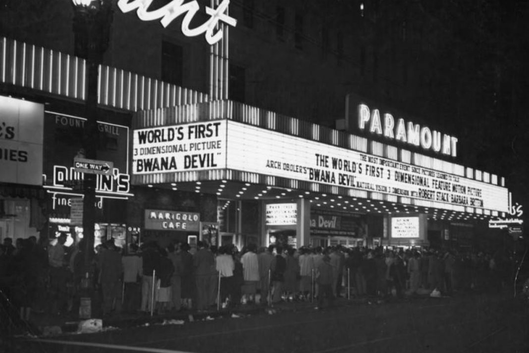 3d movie los angeles 1953